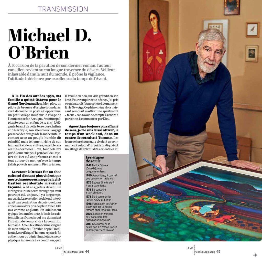 L'auteur Michael O'Brien
