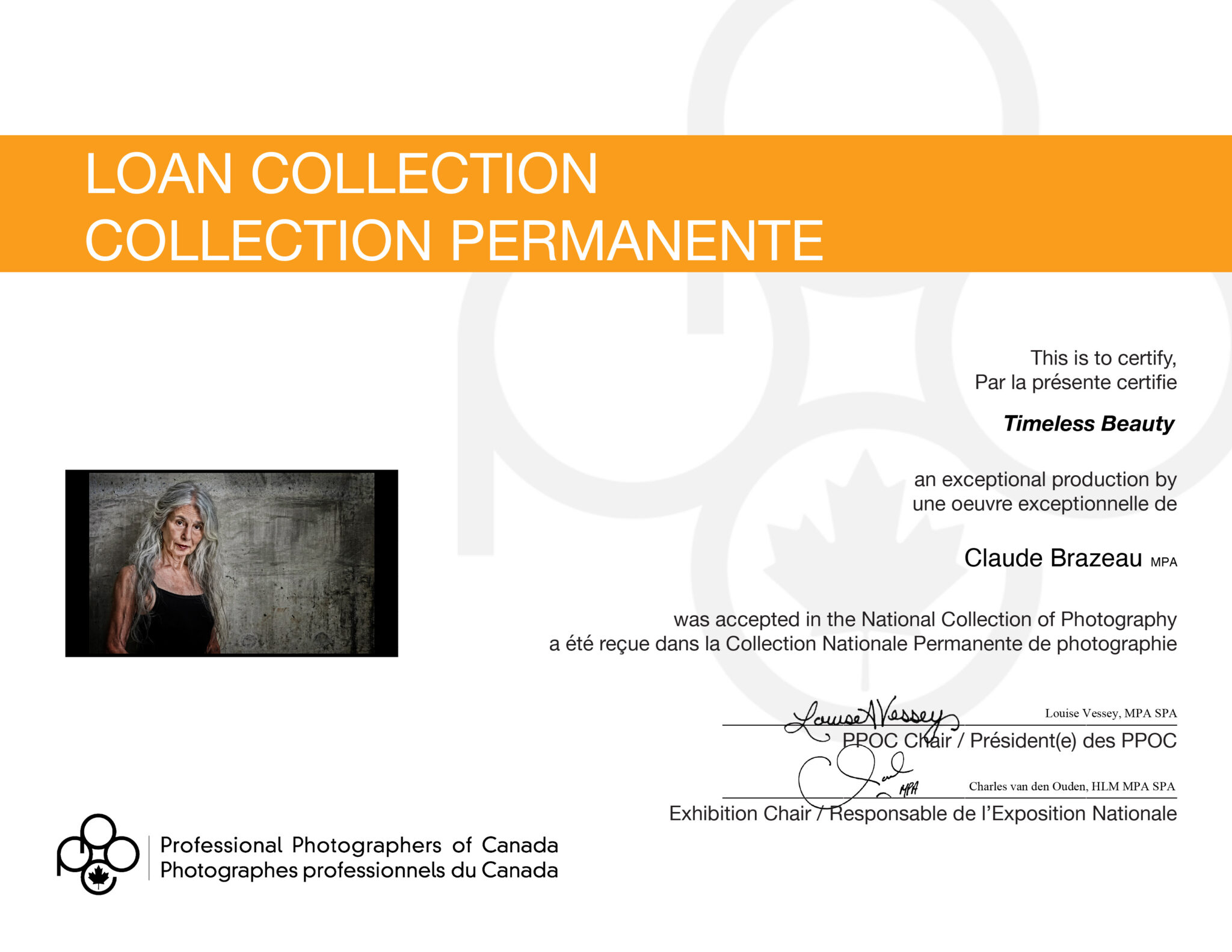 Collection permanente canadienne