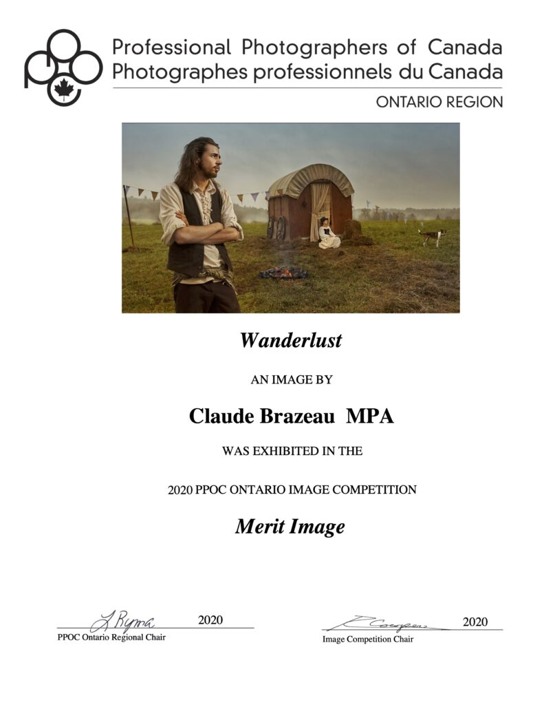 Wanderlust, PPOC Ontario Merit Image and Judge's Choice